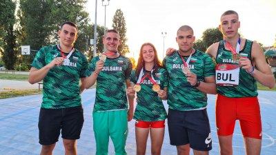 Шест медала за атлетите ни от Балканския шампионат в Кралево