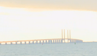 Уникален мост свързва Дания и Швеция