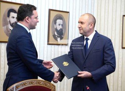Вторият мандат - връчен от Радев и върнат веднага от ГЕРБ-СДС