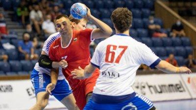 България U19 с втора загуба на Европейското по хандбал у нас