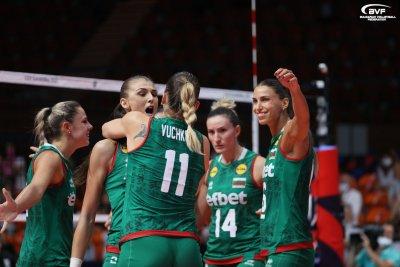 """""""Лъвиците"""" излизат срещу Чехия за трета победа на ЕвроВолей 2021 в Пловдив"""