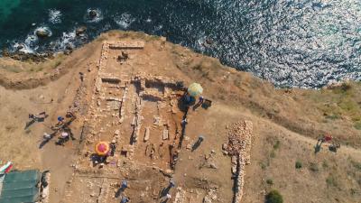 Животът в Калиакра през 14-и век и за какво са слагали кремъци в гробовете