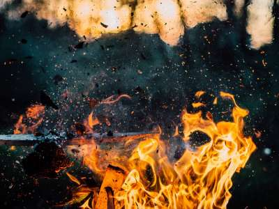 Продължава борбата с пожарите на остров Евбея
