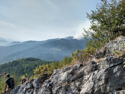 Ограничени са пожарите над Югово