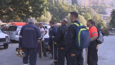 Мотористи от Асеновград се включиха в гасенето на пожара над Югово