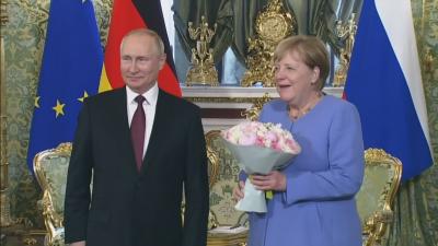Преговори в Кремъл: Прощална визита на Меркел в Москва