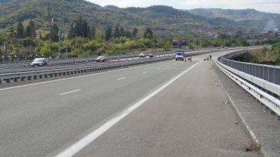 Временни ограничения на скоростта по участъци от магистралите