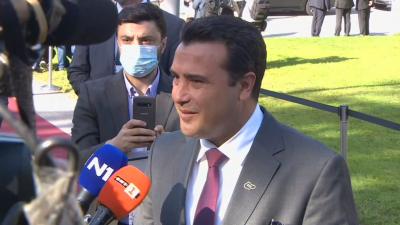 Зоран Заев ексклузивно пред БНТ: Очаквам сформиране на стабилно редовно правителство, за да продължат разговорите