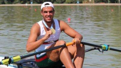 Емил Нейков ще гребе във финала на 2000 метра на Европейското за младежи