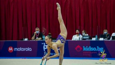 Татяна Воложанина спечели пълен комплект от медали на турнира в Бърно