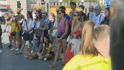 Протестиращи в Белгия настояха за мерки срещу климатичните промени