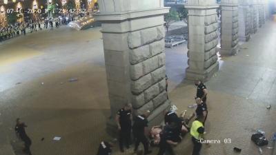КЗД не е сезирана заради полицейското насилие над протестиращи миналата година