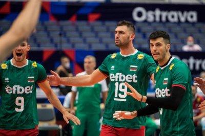 България започна с победа участието си на европейското по волейбол