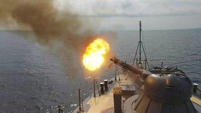 Военноморските ни сили започнаха учение в Черно море
