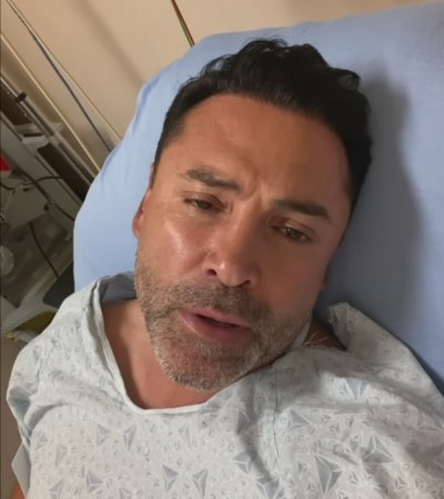 Де Ла Оя е хоспитализиран с коронавирус
