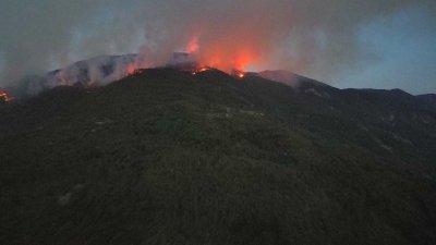 Потушен е пожарът над Югово и Нареченски бани в Родопите