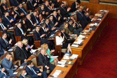 Скандал в парламента заради Закона за НСО