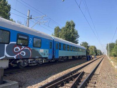 Влак блъсна мъж на гарата в Пловдив