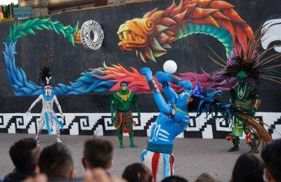 В Мексико отбелязаха 500 г. от падането на Теночтитлан - столицата на ацтеките (Снимки)