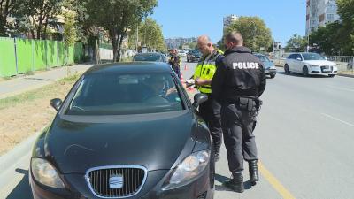 Акция за дрогирани шофьори във Варна: Открити са само нередовни документи