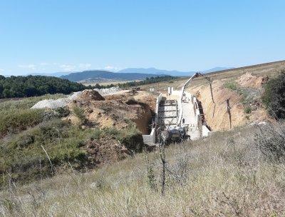 Установиха незаконен ремонт на язовира в село Дражинци