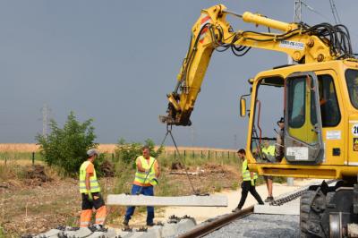 Ремонтират жп линията между Русе и Каспичан