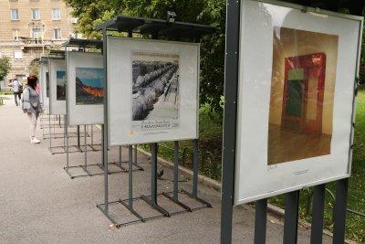 Показват емблематични творби на Кристо и Жан-Клод в Градската градина в София (Снимки)