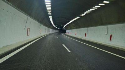 """Временни ограничения на движението в тунел """"Големо Бучино"""" на АМ """"Струма"""" утре"""