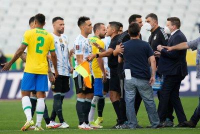 ФИФА ще разследва скандалния мач между Бразилия и Аржентина