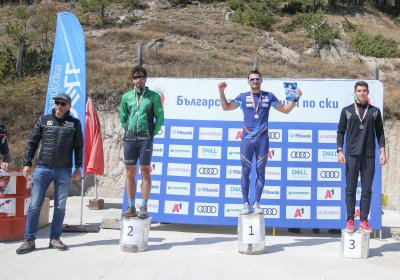 Титли за Беломъжев и Димитрова в интервалния старт в ски бягането