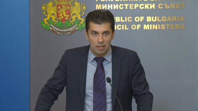 Кирил Петков: Докато съм служебен министър, на политически теми няма да говоря
