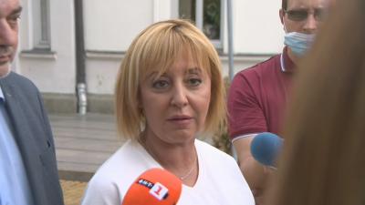 Мая Манолова: Ива Митева нарушава Конституцията с отказа си да свика извънредно заседание на НС