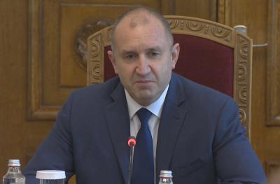 Президентът Радев: Разпускането на НС е въпрос на дни