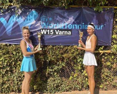 Терзийска се класира втора на тенис турнира за жени от ITF във Варна