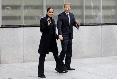 Хари и Меган се появиха в Ню Йорк (Снимки)