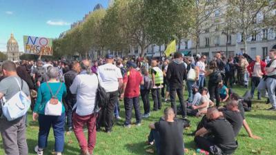 И този уикенд протест срещу ковид мерките във Франция