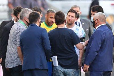 Полицията в Бразилия с разследване срещу четиримата аржентински футболисти