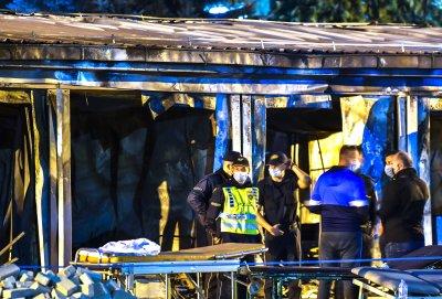 Заев: Пожарът в ковид болницата в Тетово е причинен от експлозия