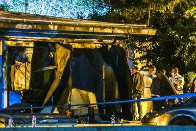 Няма данни за пострадали българи при пожара в ковид болница в Тетово