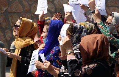 Жени от Афганистан се обявиха в подкрепа на талибаните