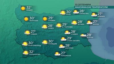 Сравнително топло днес и в близките дни