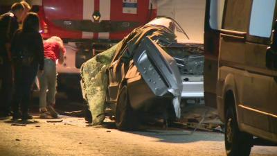 Един загинал и четирима с опасност за живота след сблъсък на пътя Русе - Силистра
