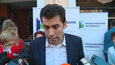 Поляха Кирил Петков с кофа вода в Пловдив