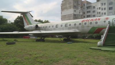 Нов живот за стар самолет - Ту-134 посреща посетители в Силистра