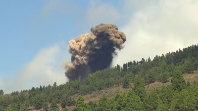 Вулкан изригна на испанския остров Ла Палма, последваха 5400 земетресения