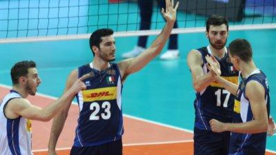 Италия и Словения ще спорят за титлата на ЕвроВолей 2021