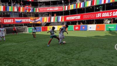 """Женският """"Отбор на надеждата"""" е на полуфинал на Европейското в Нидерландия"""