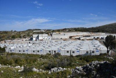 Голям пожар в мигрантски лагер на гръцкия остров Самос
