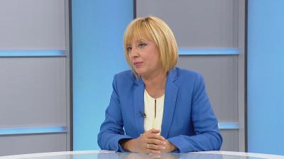 Мая Манолова: Споразумение за съвместни действия в 47-ия парламент би дало надежда на хората