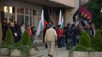 ВМРО излезе на протест заради високите цени на тока